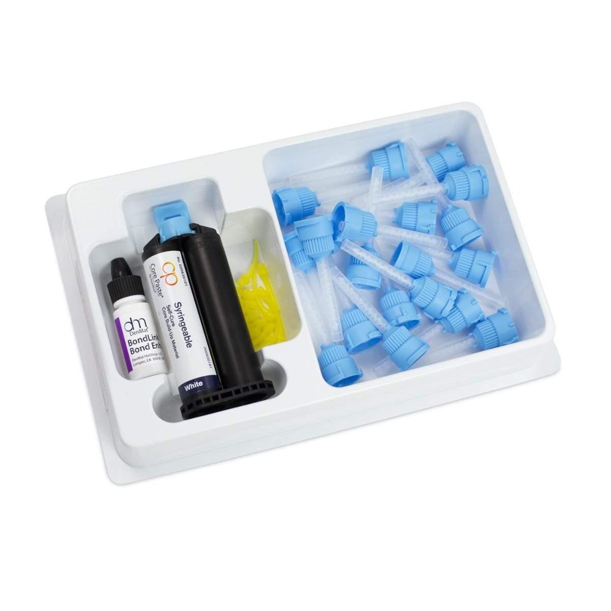Core Paste® Syringe White Self-Cure Refill Kit